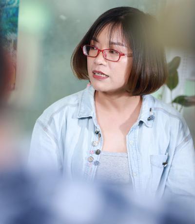 Bà Trịnh Ngọc Ánh - Trưởng phòng sáng tạo